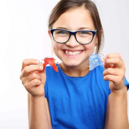 Zahnregulierung bei Kindern